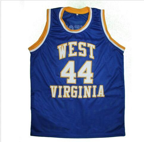 outlet store 70753 0a882 Men #44 JERRY WEST - WEST VIRGINIA MOUNTAINEERS HIGH SCHOOL College jersey  Size S-4XL or custom any name or number