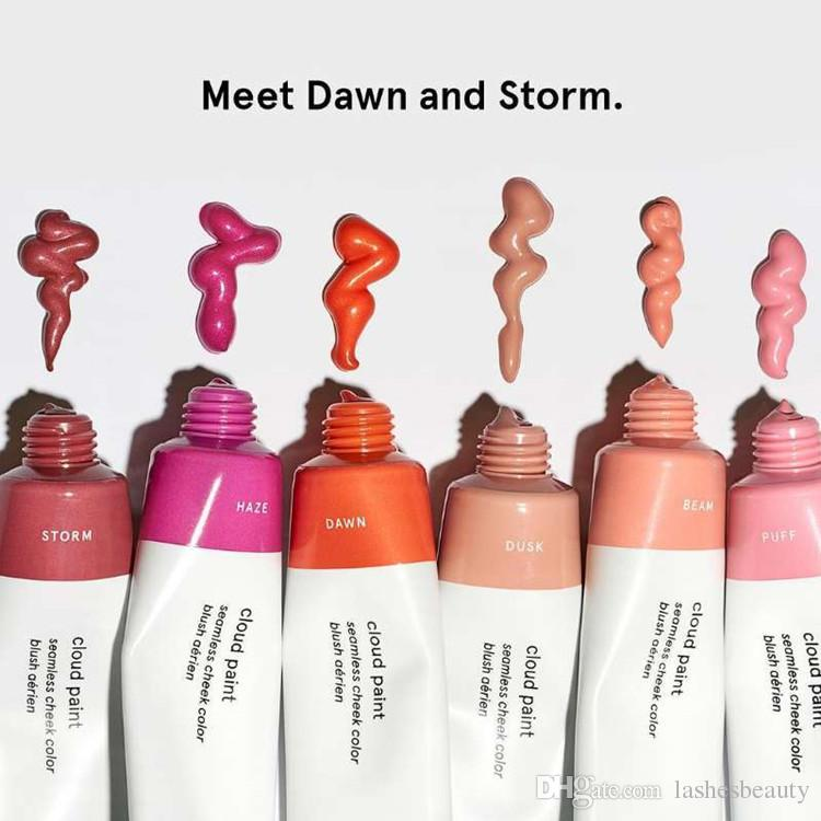 Compre Glossier Cloud Paint es Liquid Blush Storm Dawn Haze Beam ...