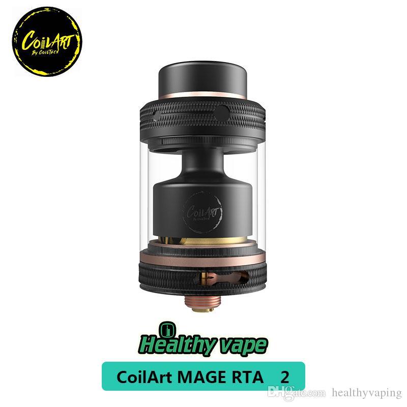 CoilART MAGE RTA 2 Tank MAGE RTA 3,5 ml Fassungsvermögen 24 mm mit extra Luftblasenrohr 100% Original