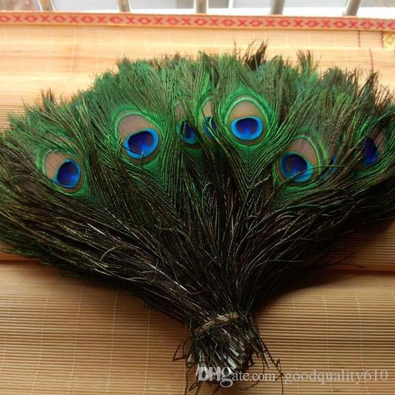 Перо павлина хвосты 10