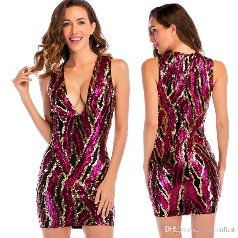 Sexy glitter dresses