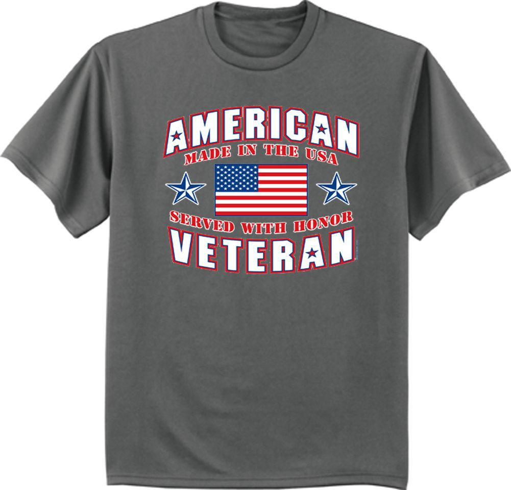 65ab58425e American War Veteran T Shirt Vietnam Korean War Retired Army Navy Marines Tee  Funny Unisex Casual Tshirt Gift T Shirt Purchase Tee Shirt A Day From ...
