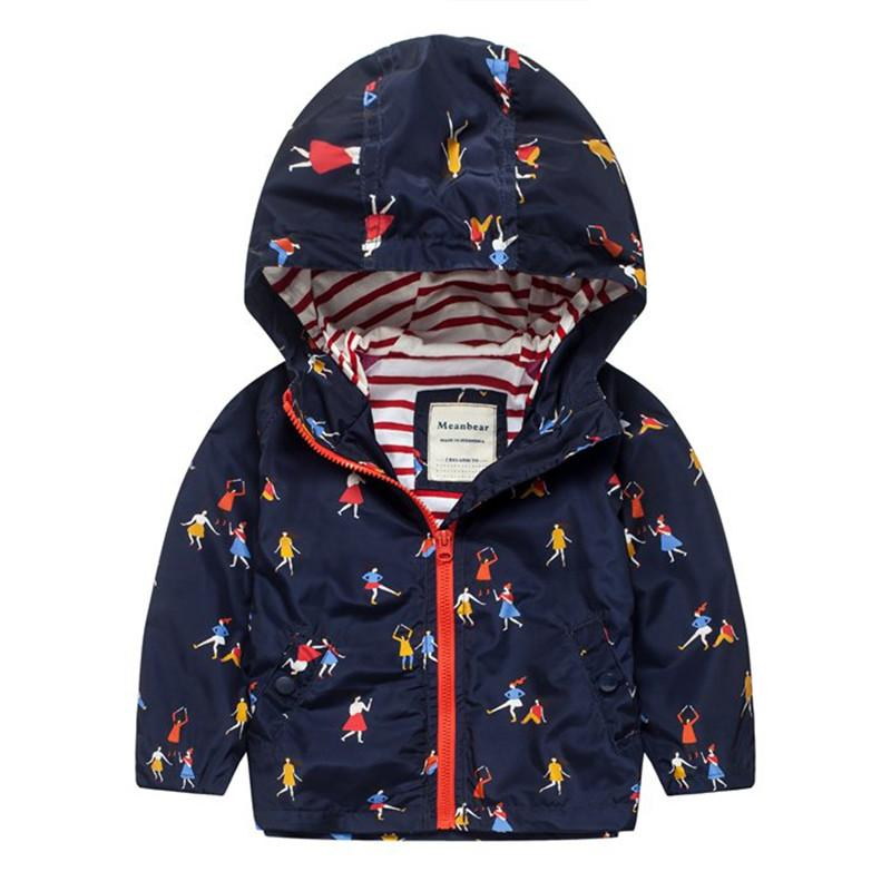 04f0cee772ef UK Original Meanbear Trench For Girls Spring Flower Jacket Baby Kids ...