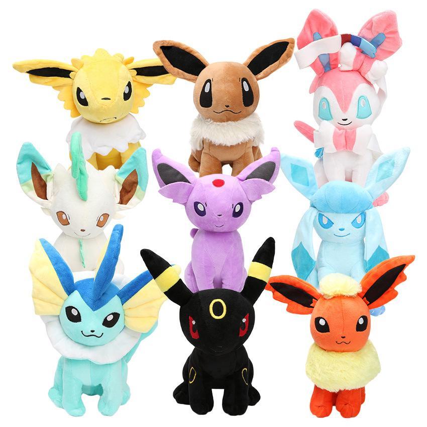 Acquista nuovo arrivo pikachu eevee cartone animato peluche bambole