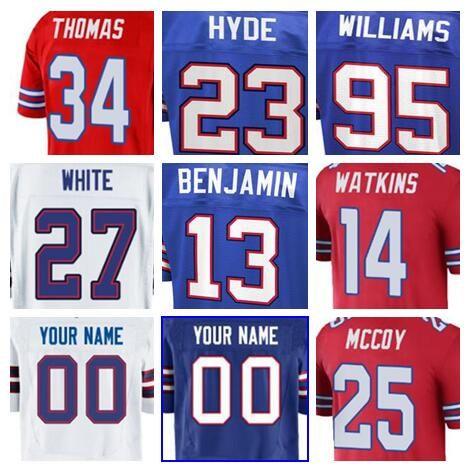 2019 2019 Buffalo LeSean McCoy Bills Jersey Custom Tre Davious White  Thurman Thomas Authentic Sports Youth Kids American Football Jerseys Cheap  From Dh114 2f112739f