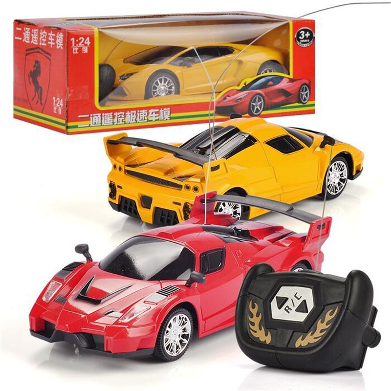 New Hot Sale 1 24 Children Toy Car Radio Remote Control Truck Racing