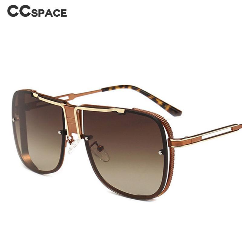 b1901703552 Oversize Metal Square Sunglasses Men Women Fashion UV400 Vintage Glasses  46062 Sunglasses Cheap Sunglasses Oversize Metal Square Sunglasses Men  Online with ...