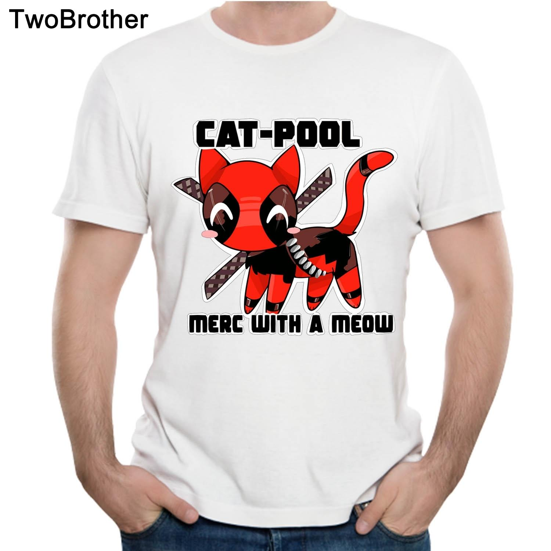 03689586d92 Deadpool T Shirt Cute Nice For Man Gift Tees Plus Szie 5xl Tee Shirt  Popular Fashion Cool Tee Shirt T Shirt Shop Design Crazy T Shirts Online  From ...