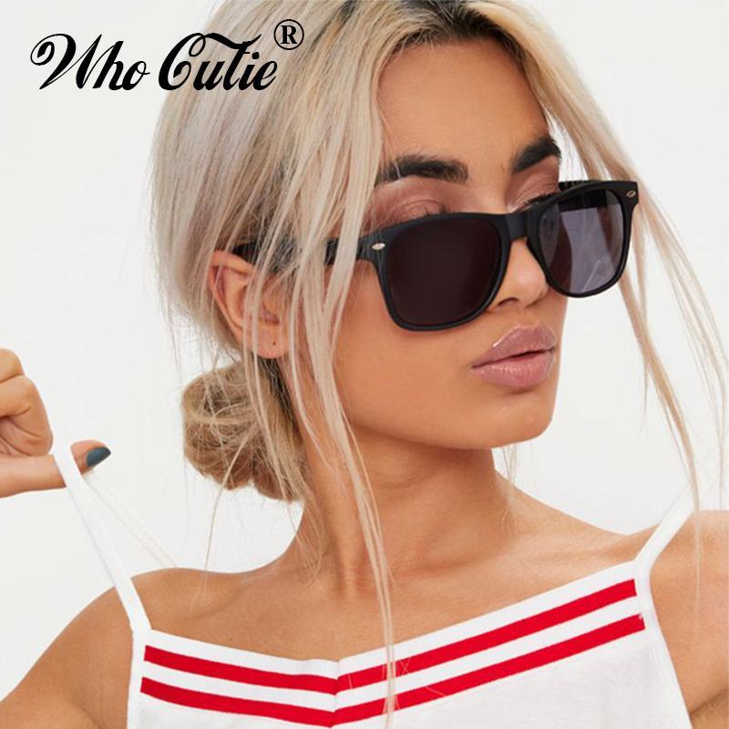 daffe0c0f0808 Compre Oms Cutie 2018 Meninas Do Vintage Óculos De Sol Das Mulheres Dos  Homens Da Marca Designer Retro Quadrado Preto Quadrado Óculos De Sol Óculos  De Lente ...