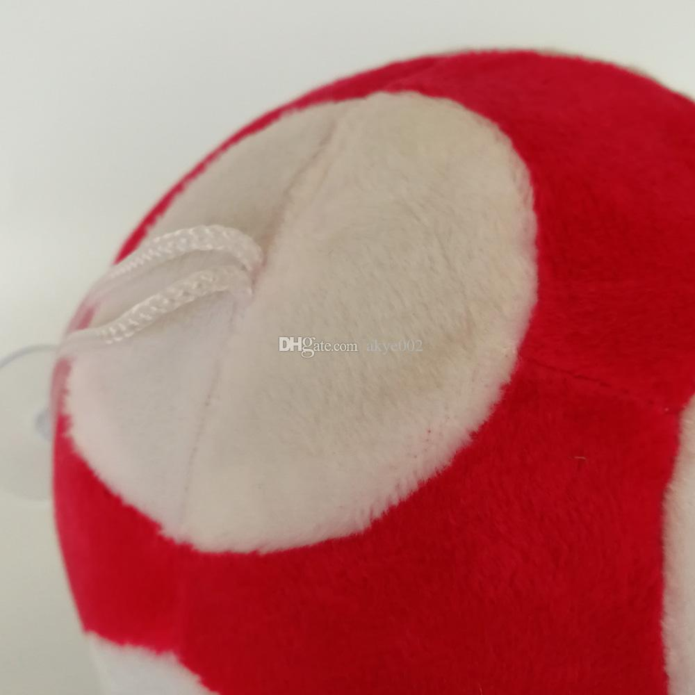 Hot Sale 4 Size 10cm 13cm 16cm 21cm Mushroom Super Mario Bros Plush Stuffed Doll Toy For Kids Best Holiday Gifts