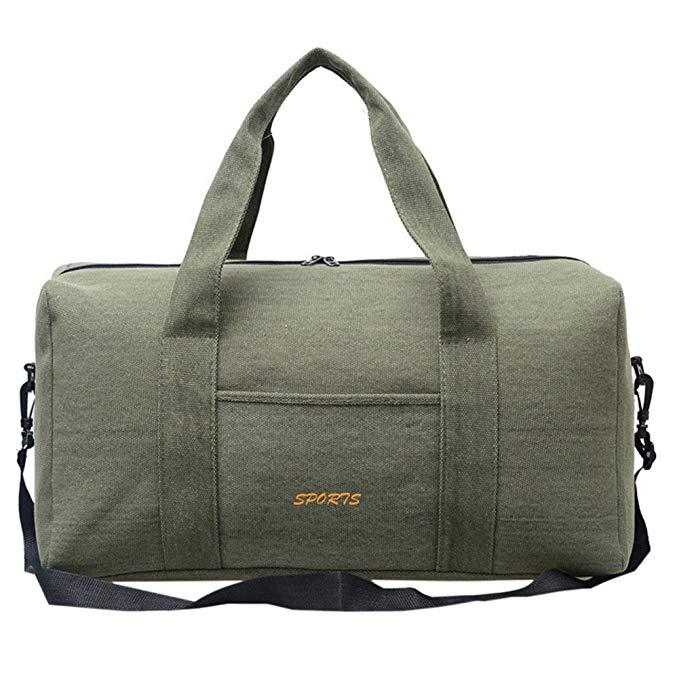 2019 Canvas Gym Bag Travel Handbag Duffel Bag Carry On Hand Luggage Large  Capacity Weekend Packbag For Outdoor Sport Travel From Kangshifuwat
