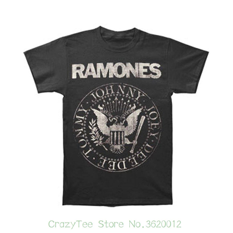 Col Shirt Acheter Slim V Homme Ramones Tee Sunlight otsQhCdBrx