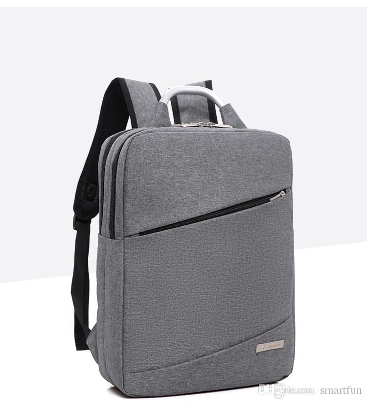 Factory Price Laptop Backpack Zipper Casual Fashion Huge Capacity Computer  Bag With Handle 14 Inch Laptop Bags UK 2019 From Smartfun 5cdd80e97801