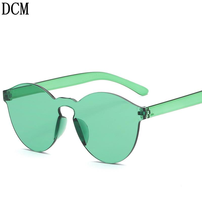 986e7eeffc New One Piece Lens Sunglasses Women Transparent Plastic Glasses Men Style  Sun Glasses Clear Candy Color Brand Designer Sunglasses Eyeglasses From  Linyicity