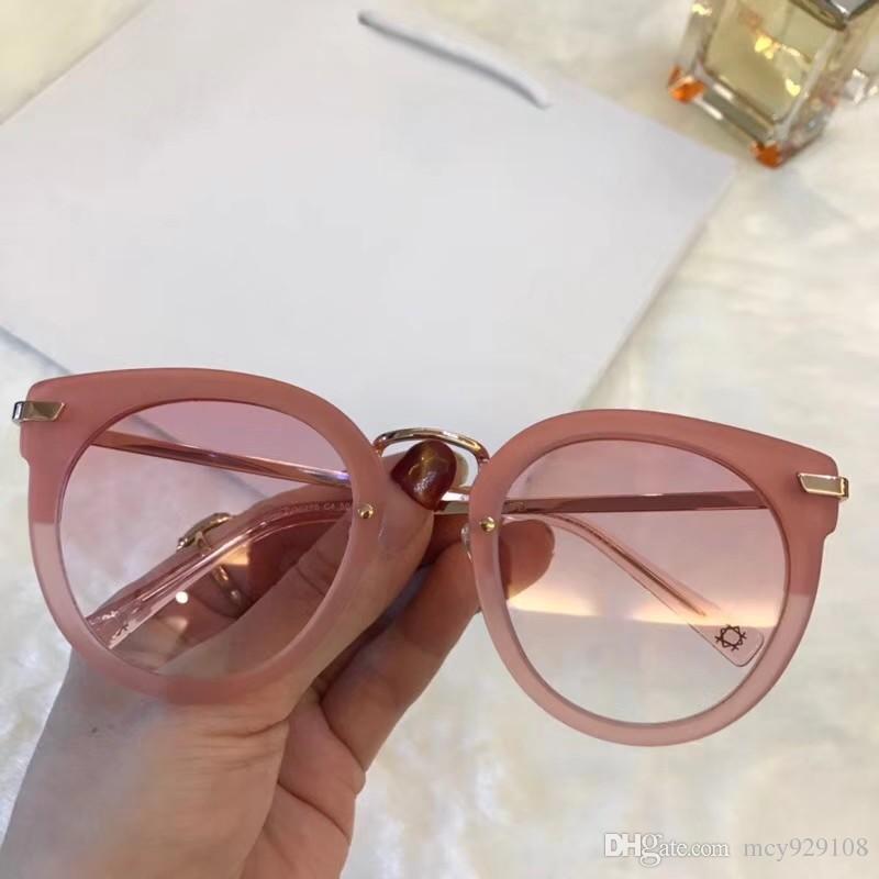 Nouvelle mode 0270 protection de l'été en plein air lunettes de soleil femmes populaires hommes simples hommes UV400 lunettes gros avec étui