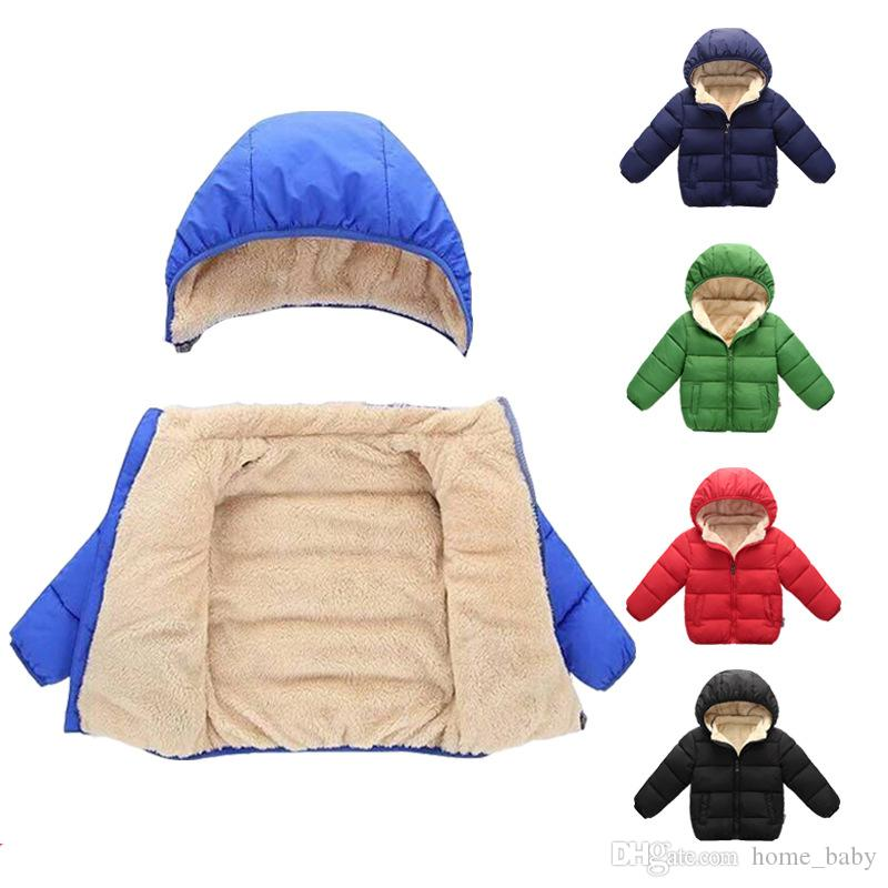8c81e3c49 Kids Designer Clothes Boys Girls Winter Coats Baby Snowsuit ...