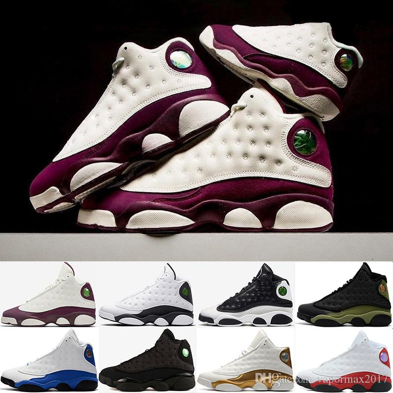 a0b2007c8c8 2019 New Pure Money 13 Hyper Royal Hype Hologram Barons Chicago Altitude  Playoff Men Basketball Shoes 13s Sports Sneaker 41 47 Basketball Shoes For  Women ...