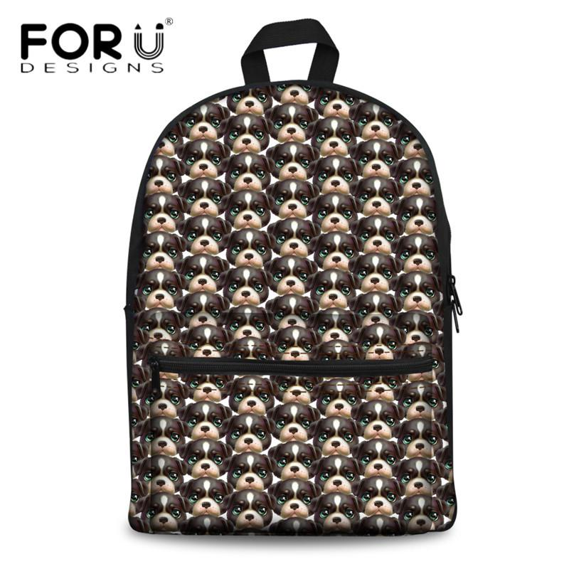 Wholesale Women Canvas Backpack 3D Animal Dog Pattern School Bags For  College Student Casual Laptop Picnic Back Pack Mochila Personalized  Backpacks Hunting ... ffaf2ee0b732