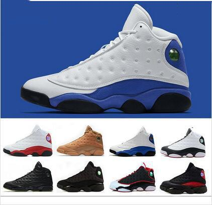 d58347cd85e8 2018 High Quality 13s Bred Chicago Flints Men Women Panda Basketball Shoes  13 DMP Grey Toe History Of Flight Hyper Royal Sneakers Cheap Sneakers  Basketball ...