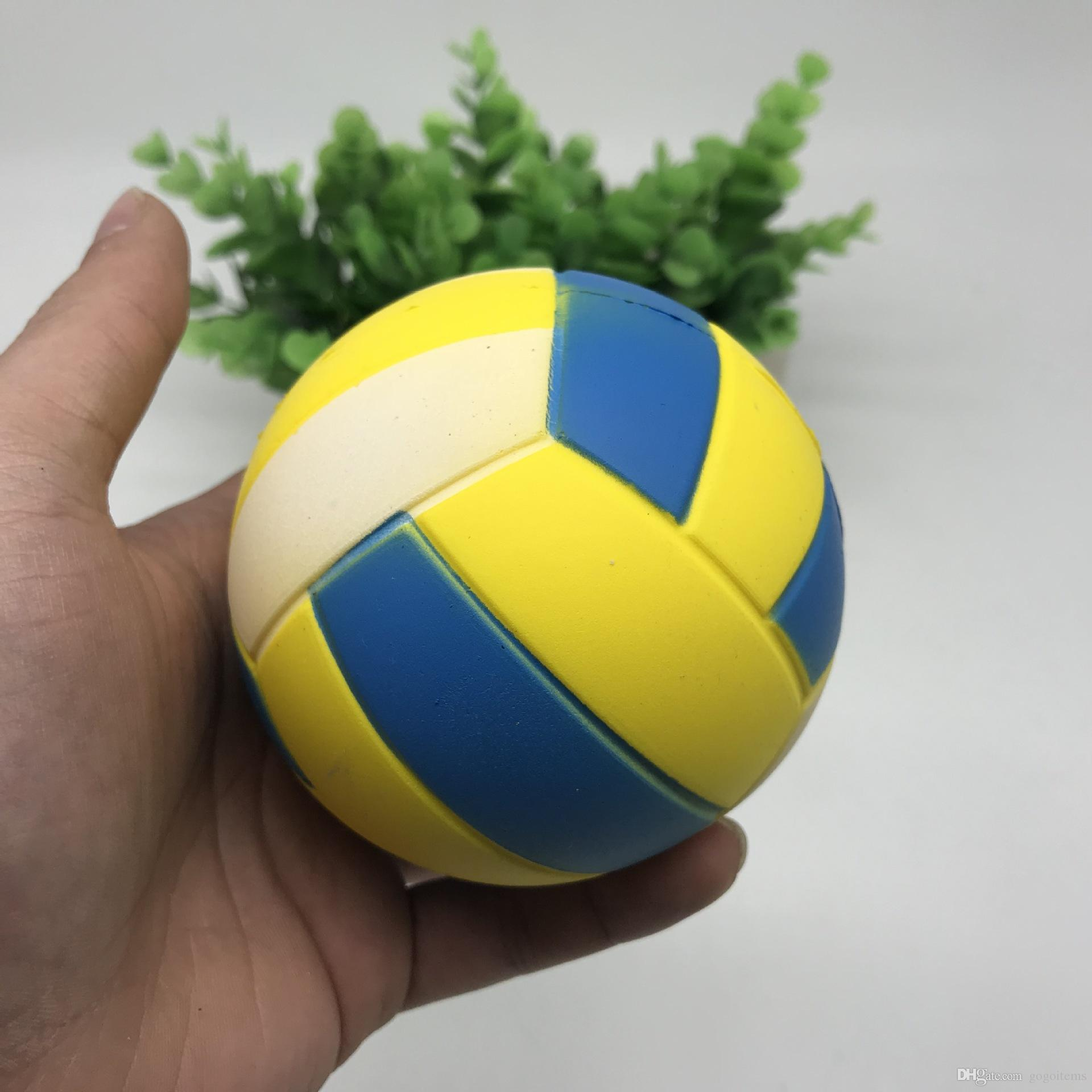 Squishy Basketball 9cm Jumbo Squishies PU Simulation Sports Ball Slow Rising Phone Charm Decompression Scented Squeeze Boy Kids Toys Gifts
