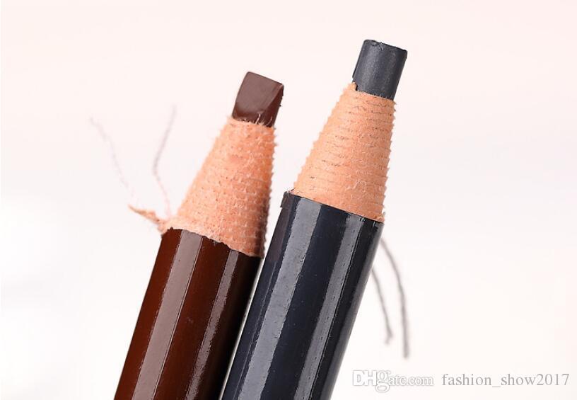 Profissional Hengsi 1818 Olhos Maquiagem À Prova D 'Água Lápis de Sobrancelha Preto Marrom Natural Caneta Sobrancelha Barato Make Up