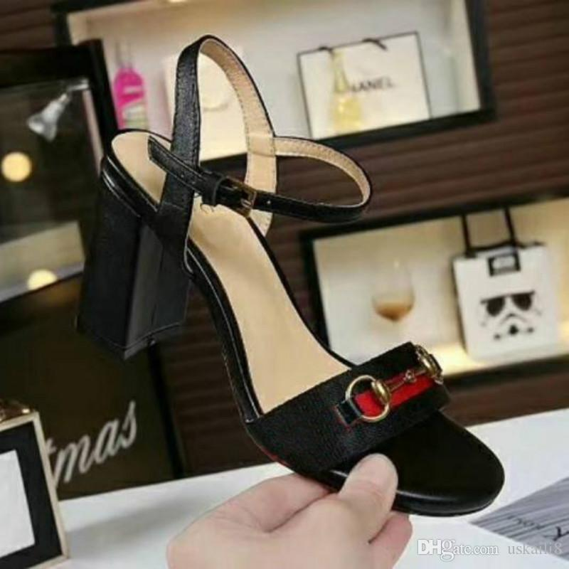 78317525977d3 Women s High Heels Brand Shoes 2018 New European Station High ...