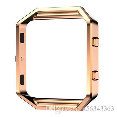 Metal Frame For Fitbit Blaze Watch Band frame Stainless Steel Housing Holder Shell smart watch sport Fitness Accessorie