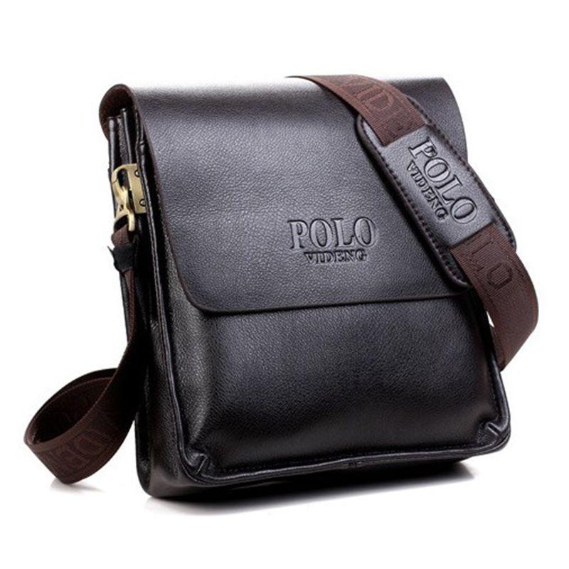 Men Messenger Bags PU Leather Shoulder Bag Men Briefcase Fashion Designer Handbags  Tote High Quality Famous Brand Business Purse Small Purses Designer ... 57d6b802fd
