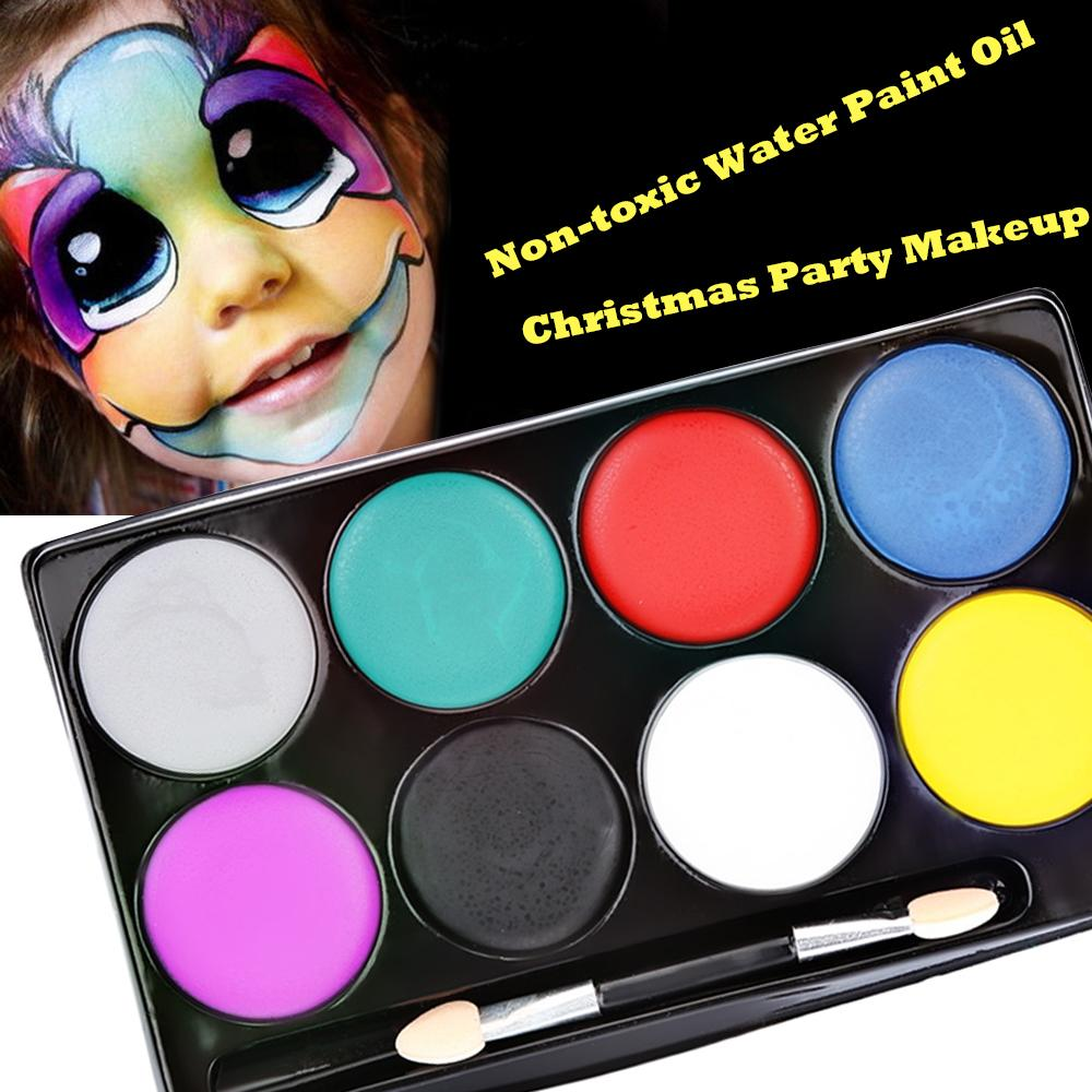 face paint halloween makeup non toxic water paint oil christmas