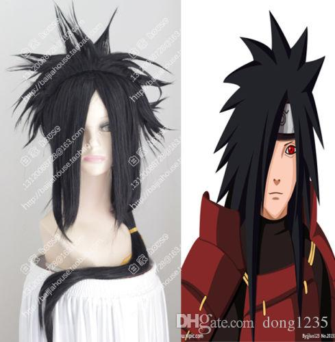 NARUTO Uchiha Madara Animation & Comic Long Black Cosplay Party Wig Hair≫≫≫Vanessa Synthetic Wigs Glueless Full Lace Wigs From Dong1235, $37.17| DHgate.