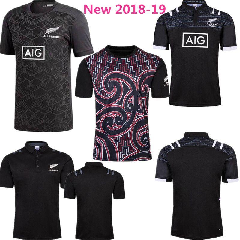 2018-2019 New Zealand All Blacks Rugby Jersey Shirt 2017 2018 Season ... 74aefa5ca