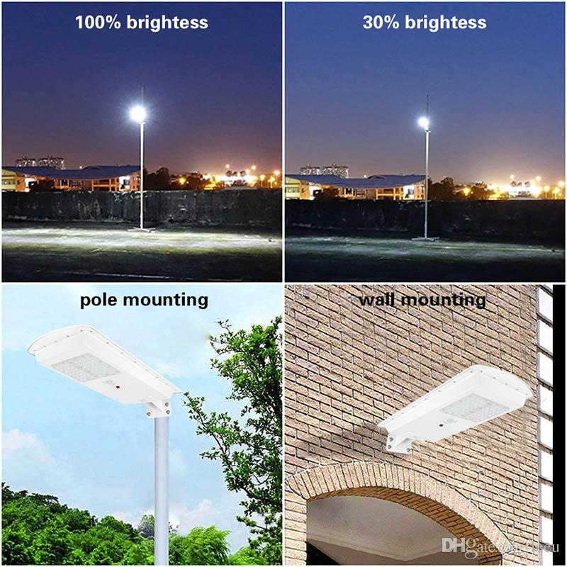 مصباح للطاقة الشمسية 10W 15W 20W 30W 50W LED ضوء الشارع في الهواء الطلق الجدار مصباح للماء أضواء السوبر مشرق الطاقة الشمسية بقيادة ضوء الشارع
