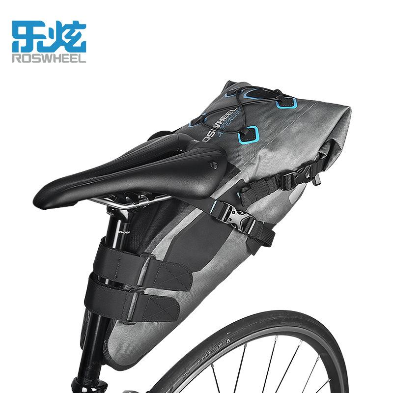 8866863606e Roswheel Attack Series 7L 100% Waterproof Cycling Bicycle Bags Bike Tail  Saddle Bags Seat Packs Storage Pouch Carrier Bicycle Handlebar Bags Bicycle  ...