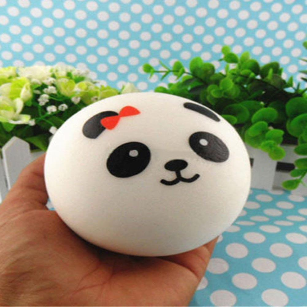 Luggage & Bags Hot Selling 7cm Jumbo Panda Squishy Charms Kawaii Buns Bread Cell Phone Key/bag Strap Pendant Squishes Bag Accessories