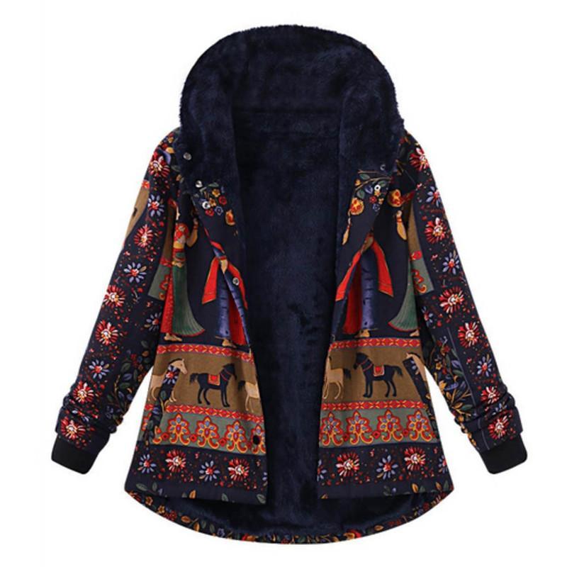 zuverlässiger Ruf Super günstig angemessener Preis Wintermantel Frauen 2018 Parka Oversize Retro Jacke Weibliche Beiläufige  Outwear Jacke Frauen Mantel Manteau Femme Hiver Outwear 30