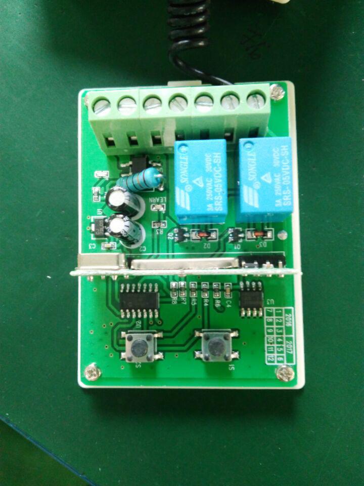 High Sensitivity 9v 24v Acdc Garage Door Openers Rf Receiver For