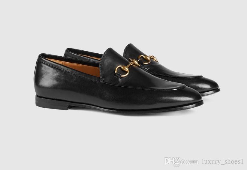 36917d8d905 New Luxury Women Jordaan Leather Horsebit Buckle Loafers.Leather Sole