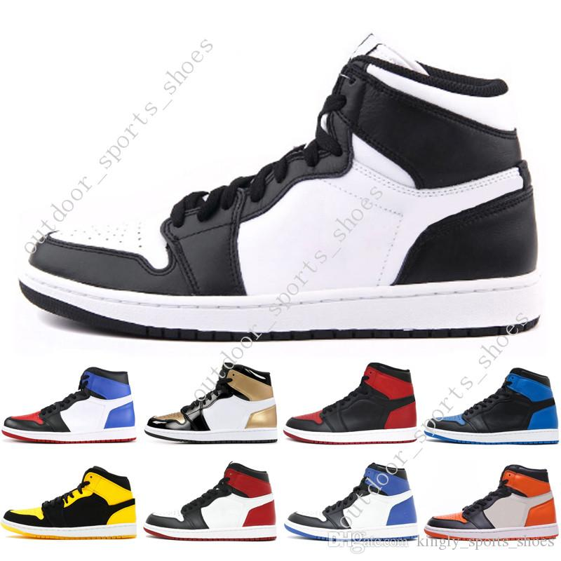 ead2faf762d4 1s Mid OG 1 Top 3 Mens Basketball Shoes Homage To Home Banned Bred ...