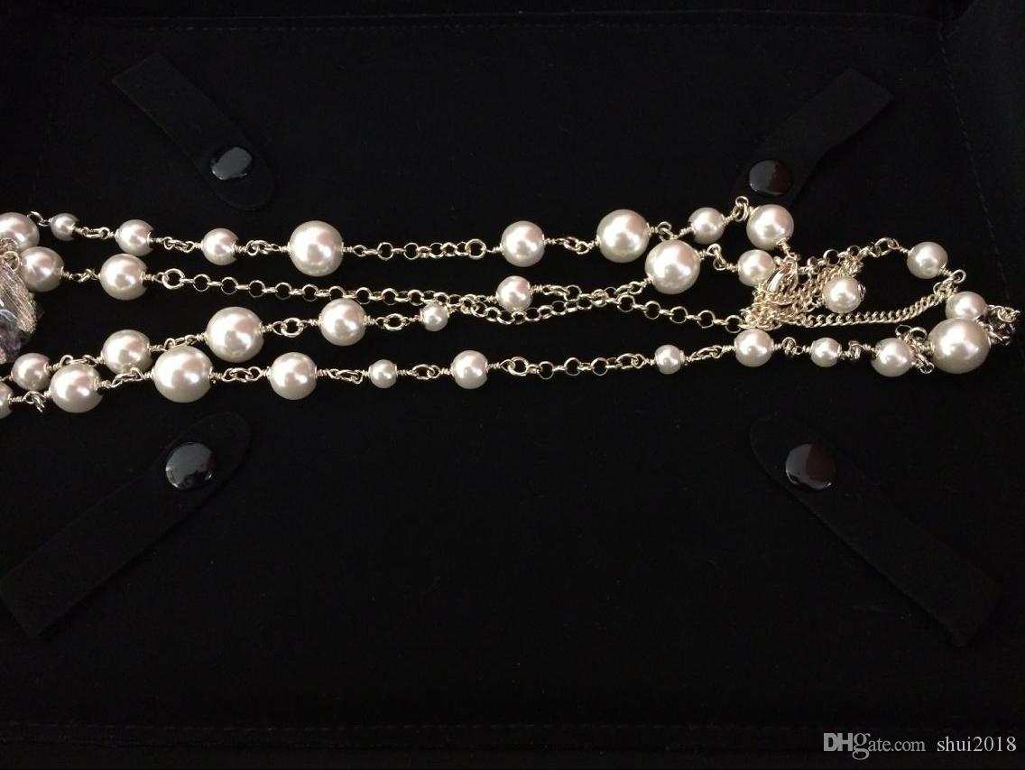 고품질 빈티지 클래식 목걸이 시리즈 비드 롱 선물 패션 목걸이를 들어 여성 패션 보석 목걸이