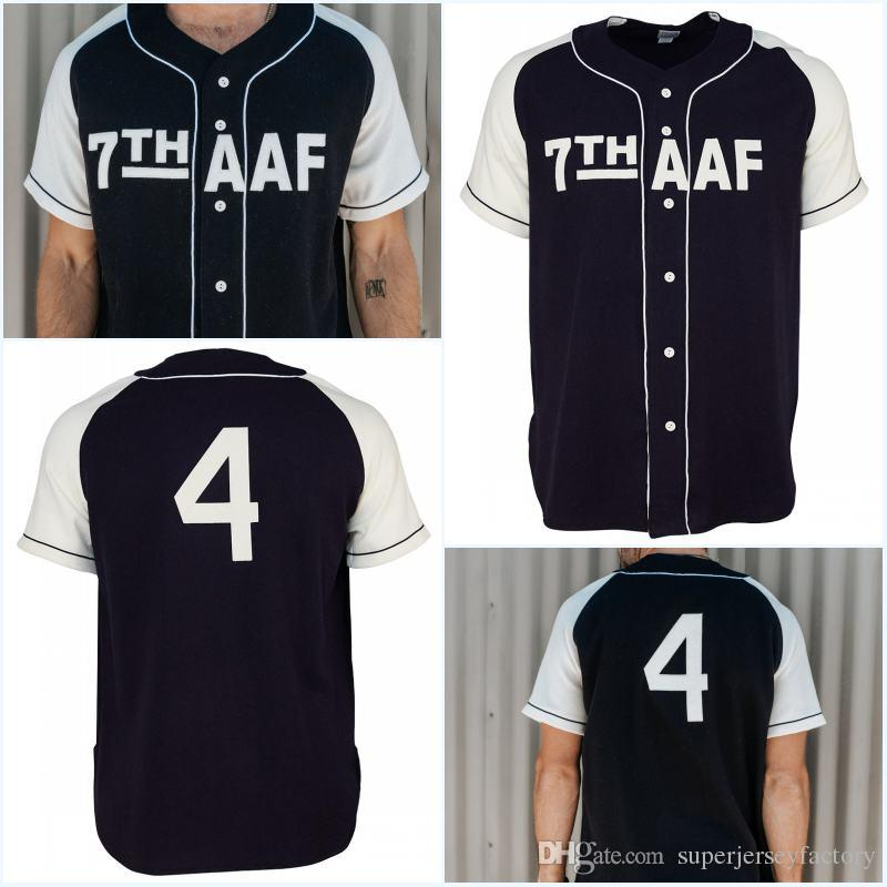 07bf901d3 2019 7th Army Air Force 1944 Road Jersey Any Player Or Number Stitch Sewn  All Stitched High Quality Baseball Jerseys From Superjerseyfactory