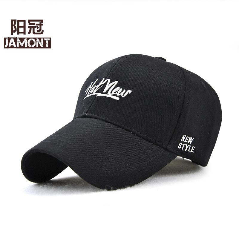 Korean Outdoors Sunscreen Baseball Cap Women And Men Pure Cotton Letter  Embroidery Peaked Cap Sunshade Baseball Hat 13900 Basecaps Hats For Sale  From ... a0243f5894f3
