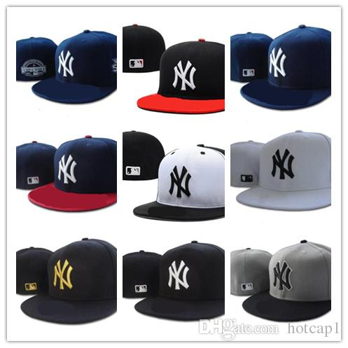 Good Quality new New York Fitted Hats for men women sports hip hop mens bones sun hats