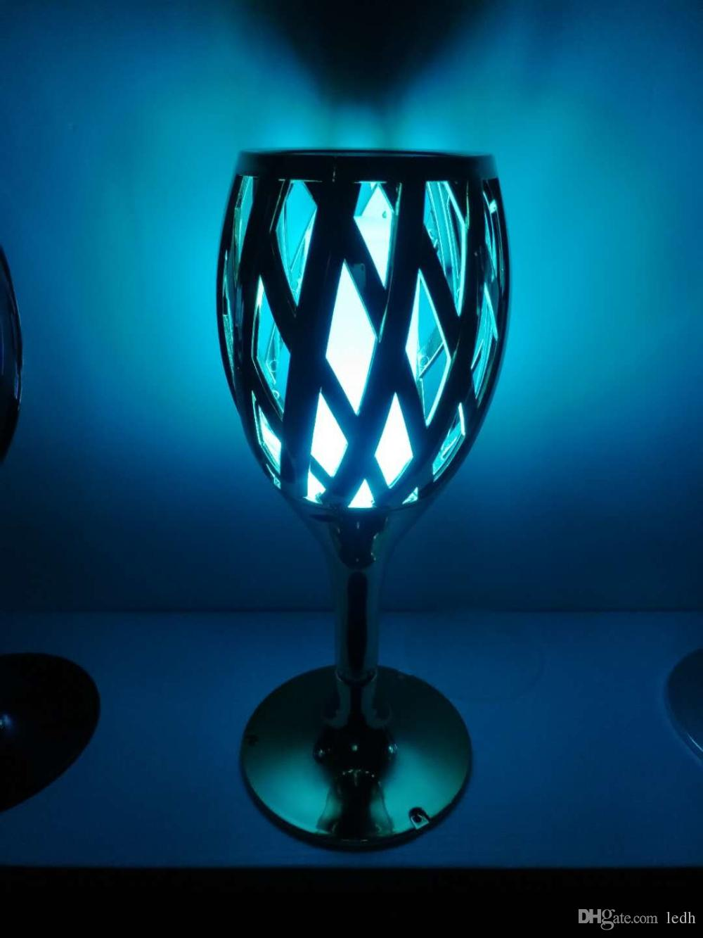 Indoor/Outdoor Battery Powered Light Motion Activated Portable Security Desk Light Mass Cup Design restaurant/bar/party decorative mood