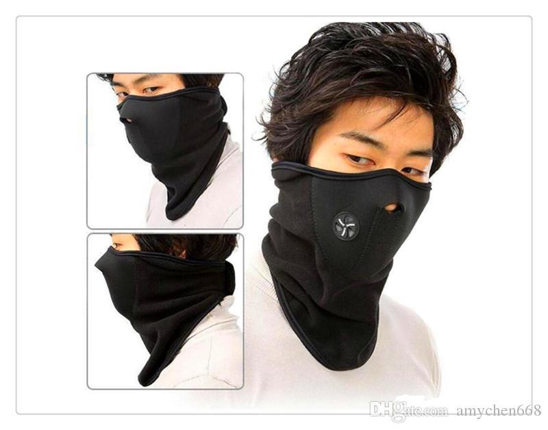 Neoprene Snowboard Esqui Ciclismo Máscara Facial Neck Warmer Bicicleta máscara de Esqui Bicicleta Máscara Facial cores misturadas