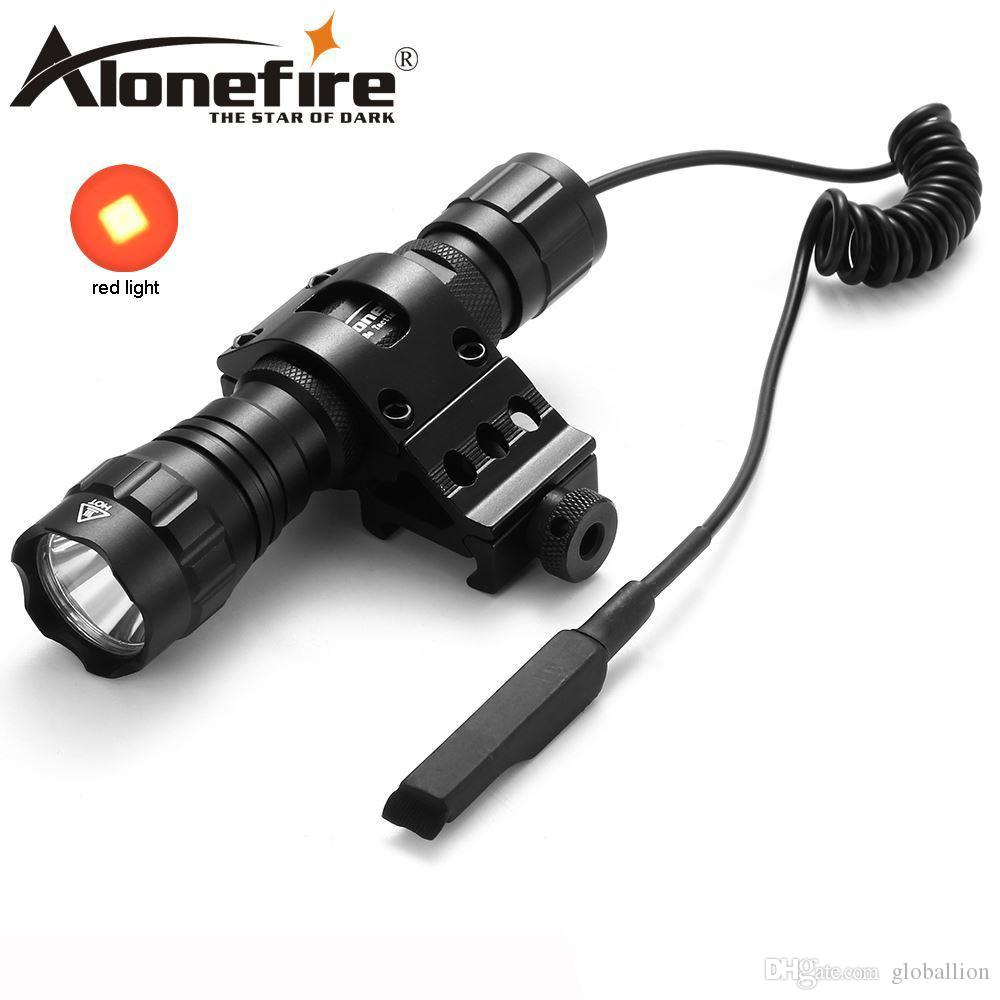 Remote Pressure Switch Lower Price with Alonefire 501d 1set Gun Torch Bright Led Flashlight Light Torch Tactical Flashlight Lamp Gun Mount