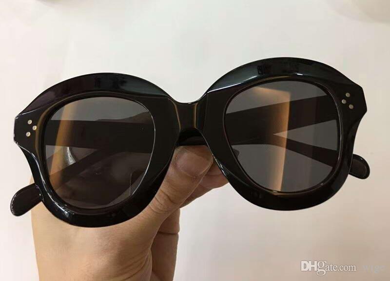 db2ace41b6b98 Compre Mujeres 41445 Lola Gafas De Sol En Acetato Negro 41445   S Gafas De  Sol Negras   Grises Moda Lentes De Sol Ropa De Ojos Nuevo Con Caja A  61.93  Del ...
