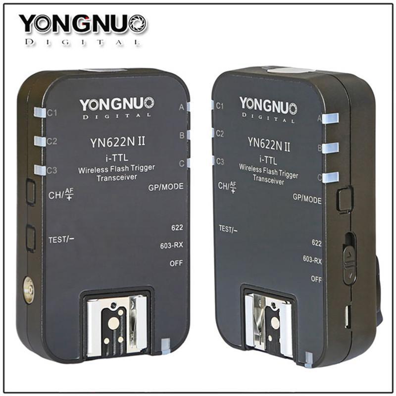 YONGNUO YN-622N II YN622N II i-TTL Wireless Flash Trigger Transceiver for  D800 D700 D600 D610 D300 for Yongnuo YN565 YN568
