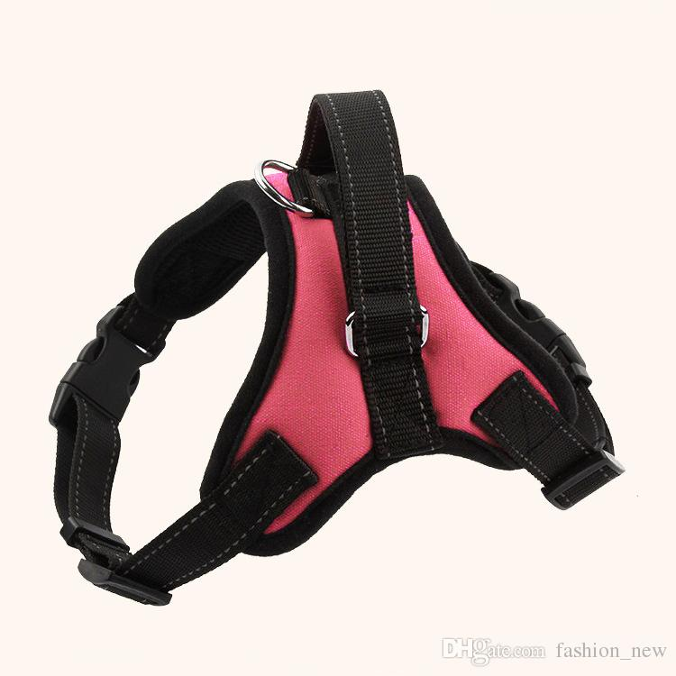 QUENTE! Suprimentos para cães K9 Pet Cães Harness Coleiras colete de alta qualidade Harness Dog harnais pour chie para Grande Grande Médio Pequeno