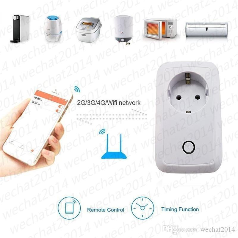 الذكية wifi مقبس التوصيل التبديل cn المملكة المتحدة الولايات الاتحاد الأوروبي التوصيل التحكم عن المقبس المخرج توقيت التبديل ل أتمتة المنزل الذكي