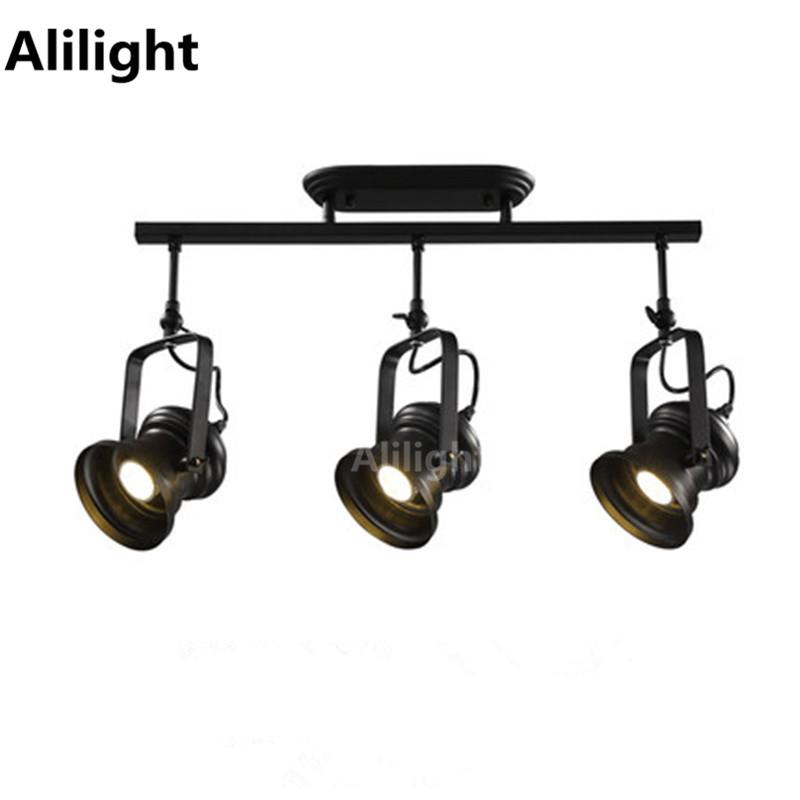 Compre retro loft vintage led track light rural industrial track compre retro loft vintage led track light rural industrial track lamp bar ropa personalidad spotlight absorber rail light luminaire a 7307 del samanthe aloadofball